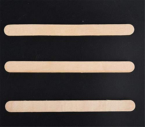 Moonnight Store New 100sets 50Pcs/set 11cm Craft Ice Cream Sticks Wooden Pop Popsicle Sticks Natural Wood Cake Tools kids Handwork Art Crafts by Moonnight Store (Image #5)