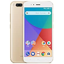 "Xiaomi Mi A1 4GB/64GB - Dual SIM [Android 7.1.2, 5.5"" IPS LCD, Snapdragon 625 Dual 12.0MP, 3080mAh battery, 4G LTE] (Gold)"