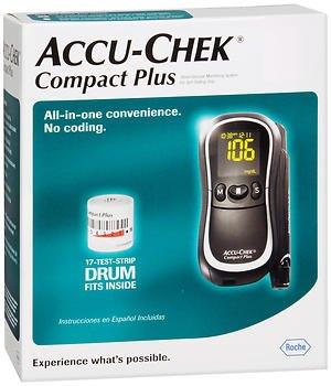 Accu-chek Compact Plus Diabetes Monitoring Kit (1)
