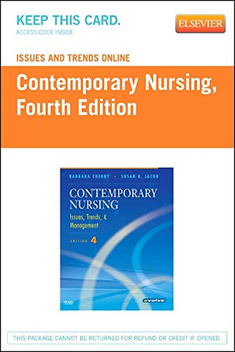 Issues and Trends Online for Contemporary Nursing (Access Code): Issues, Trends and Management PDF
