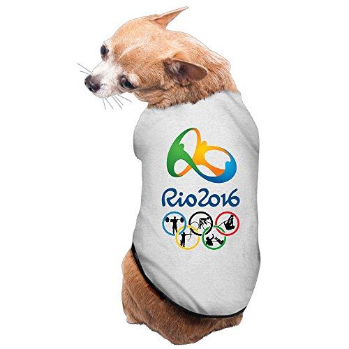Olympics Games The 2016 Rio De Janeiro Doggy Sleeveless Gray Size M