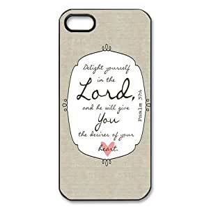 Bible Verse Case for Iphone 5/5s by runtopwell