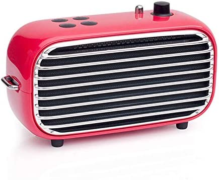 Retro Wireless Speaker, Lofree Poison, Portable Speaker with Bluetooth 4.2, HD Sound and Enhanced Bass, 20W Loud Output, FM Radio with Vintage Look, Unique Design, Ideal Gift for Men Women Teenagers