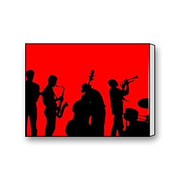 Amazon Com Abstract Jazz Band Art Paintings Canvas Prints