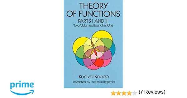 Theory of Functions, Parts I and II (Dover Books on Mathematics ...