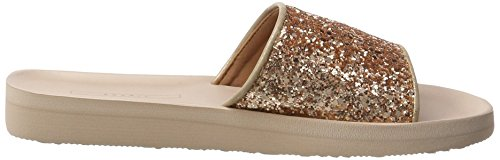 Esprit Francis Glitter, Mules para Mujer Beige (Dusty Nude)