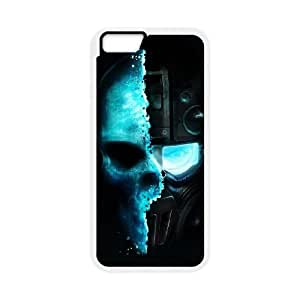 iPhone 6 Plus 5.5 Inch Cell Phone Case White Tom Game Ghost Recon Skull GY9196056