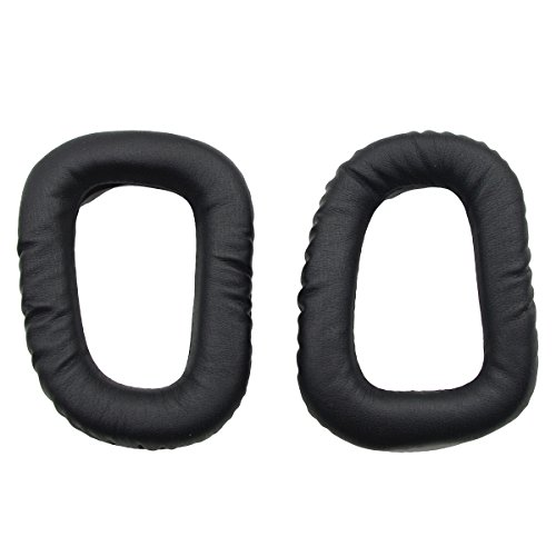 iParaAiluRy Soft Replacement Earpads Ear Pads Cushions for Logitech G35 G430 G930 F450 Headphones (1 Pair)