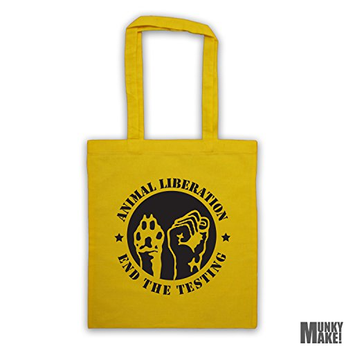bag Yellow different the ANIMAL LIBERATION end colours tote testing AwX8fx