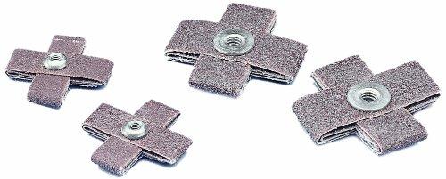 3M(TM) Cross Pad 747D, X-Weight Cloth, Ceramic Aluminum Oxide, 1-1/2'' Length x 1-1/2'' Width x 1/2'' Thick, 60 Grit, Orange  (Pack of 100)