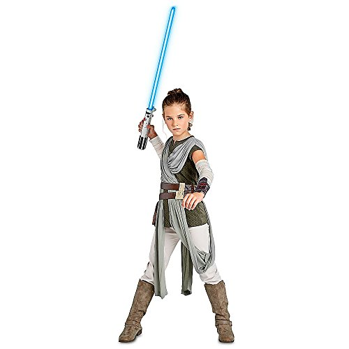 (Star Wars Rey Costume for Kids The Last Jedi Size 7/8)