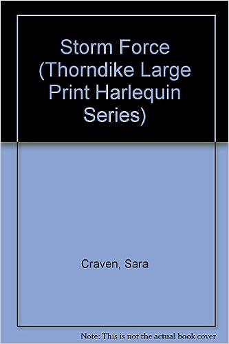 Storm Force Thorndike Large Print Harlequin Series Amazon