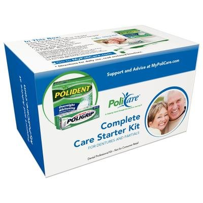 Policare Complete Care Starter Kit for Dentures & Partial ()