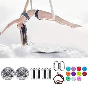 MQSS Columpio de Yoga Kit de Hamaca de Yoga aéreo para ...