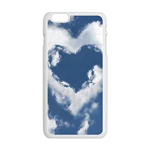 Personalized Creative Cell Phone Case For iPhone 6 Plus,heart clouds sky wangjiang maoyi by lolosakes