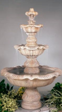 HENRI STUDIO Three Tier Renaissance Fountain