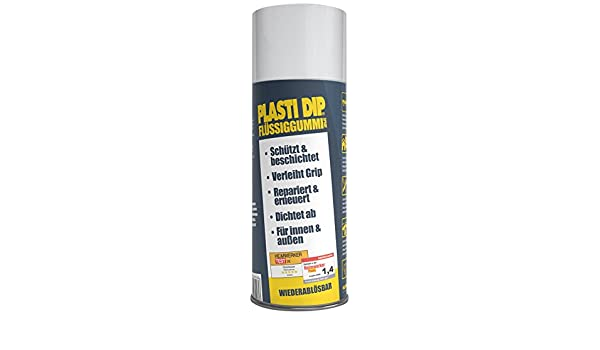 Plasti Dip Spray de goma líquido 61001002, blanco, 400 ml: Amazon.es: Coche y moto