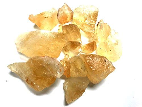 Zentron Crystal Collection Rough Citrine Stones 3 Pound Lot Nice Crystal ()