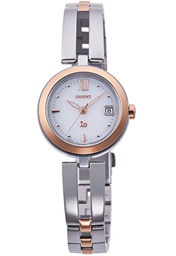 ORIENT iO Io NATURAL and PLAIN LIGHT CHARGE watch RN-WG0002S Ladies