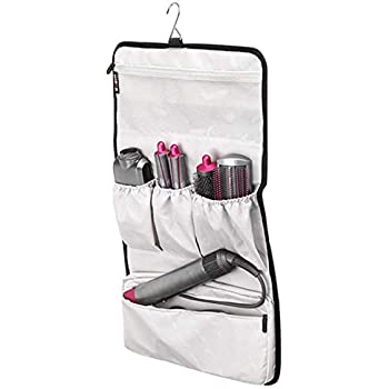 Storage Bag for Dyson Airwrap Styler Accessories Holder Multiple Pouches with Hook Hanger, Hair Curler Protective Case Portable for Home and Travel, ...