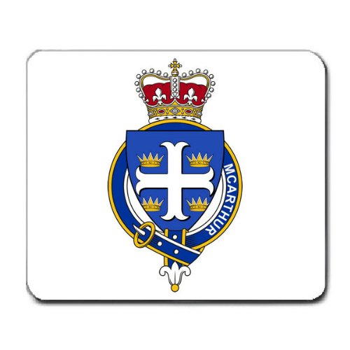 kuhne-family-crest-coat-of-arms-mouse-pad