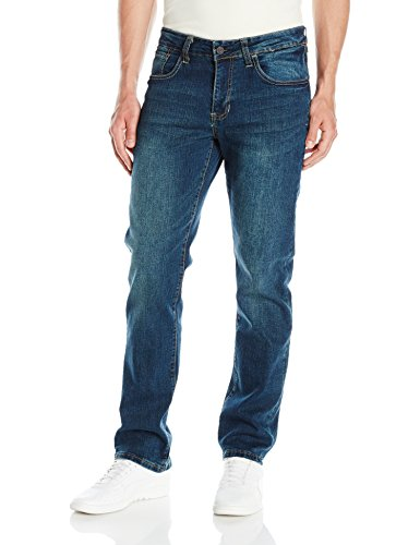 Izod Men's Comfort Stretch Denim Jeans (Regular,Straight, and Relaxed Fit), Indigo Blast, ()