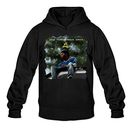 NAGEYI Men's 2014 Forest Hills Drive Design Hoodie Pullover Adult Sweatshirt (J Cole 2014 Forest Hills Drive Vinyl)