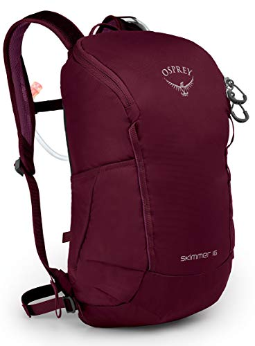 Osprey Packs Skimmer 16 Women's Hydration Pack, Plum Red, One Size
