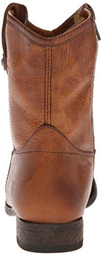 Knappen Frye Melissa Cognac Kvinners 77908 Ankel up Antikk Vasket Boot Kort Pull HHATErqxw