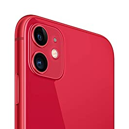 Simple Mobile Prepaid – Apple iPhone 11 (64GB) – (PRODUCT) RED [Locked to Carrier – Simple Mobile]