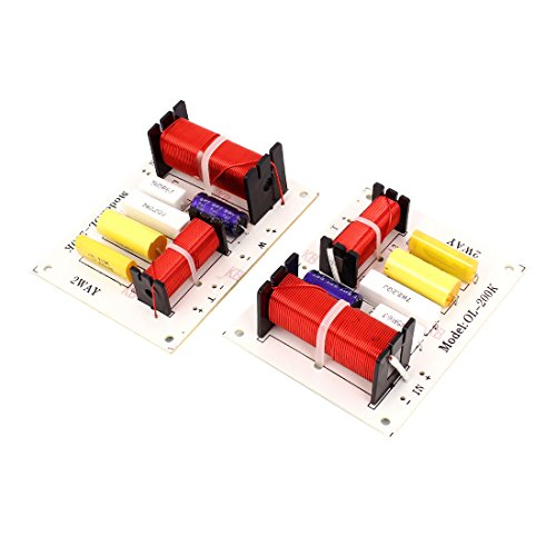 uxcell 180W Crossover Filters Frequency Divider Pair