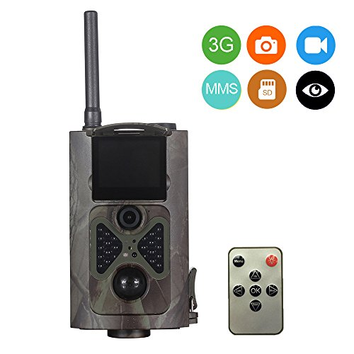 Uboway 3G Wireless Trail Camera 16MP 1080P HD with Night Version for Hunting & Monitoring