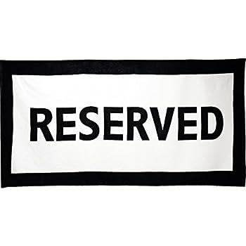 "IGGI Reserved, 100% Cotton, Beach Towel, 30"" x 60"""
