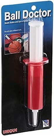 Unique Sports Ball Doctor Leak Puncture Flat Fix Repair Kit, Basketball Football