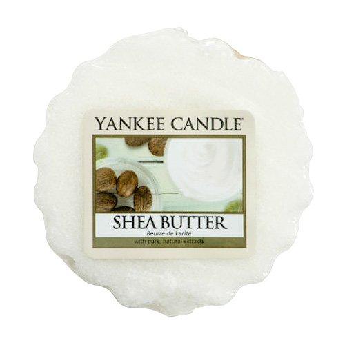 YANKEE CANDLE 1332216E Tartelette en Cire Parfumée Beurre de Karité Blanc 22 G