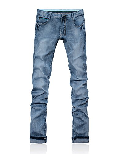Series Demon Dh8327 Vaqueros Pantalones 817 Jeans Azul amp;Hunter Hombre X Recto Straight qqRrwt7xT
