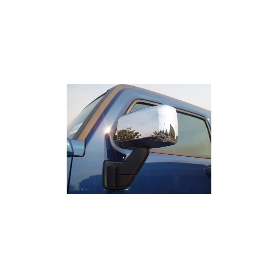 Putco Chrome Door Mirror Covers, for the 2007 Hummer H3