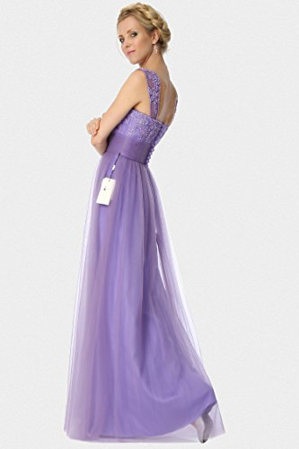 correas damas formal de noche Orchid SEXYHER de honor regular 23C rebordear decoraci¨®n EDJ1830 vestido fnvcnHt6q
