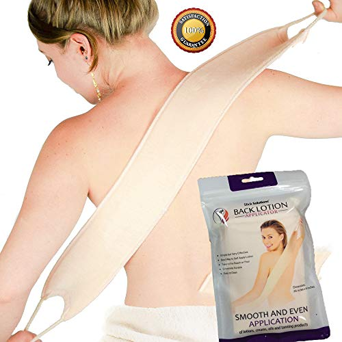 Lotion Applicators for Your Back - Easy Self Application of Lotions and Creams - Smooth and Even Application to Entire Back - Tanning Lotion Back Applicator (Back To Your Best)