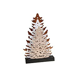 Clever Creations Christmas Decorations (02-Tan Trees)
