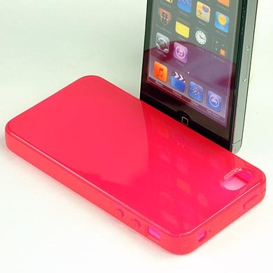 ABZ-S Rückschale für iPhone 4S - pink