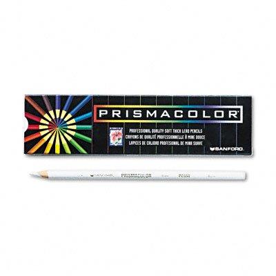 Prismacolor Premier Soft Core Colored Pencil  White Pack Of 12