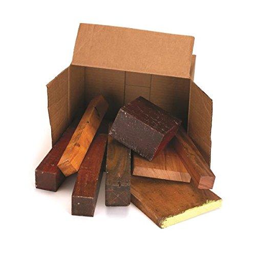 Exotic Wood Cut-Offs 10-Pound Box