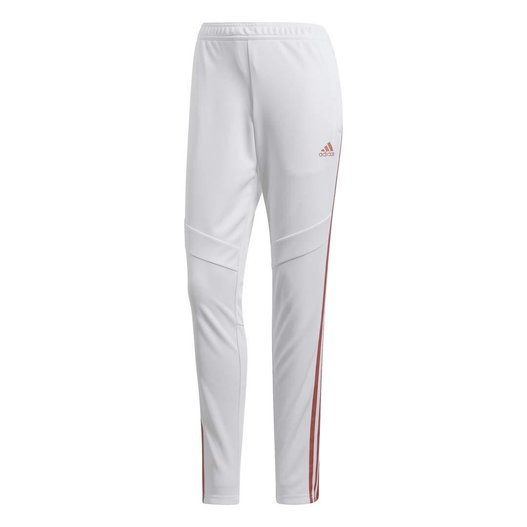 adidas Women's Soccer Tiro19 Training Pants, White/Nude Pearl Essence, X-Small by adidas