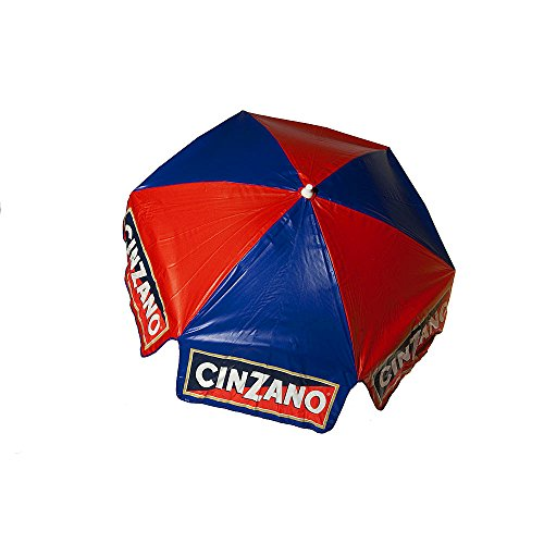 Patio - Umbrella Large Outdoor Adjustable Parasol W/Cantilever Base Stand - Best Sun Uv Protection For Garden, Patio, Lawn, Beach, Pool. Solar Cover, Big Shade. 6' Cinzano