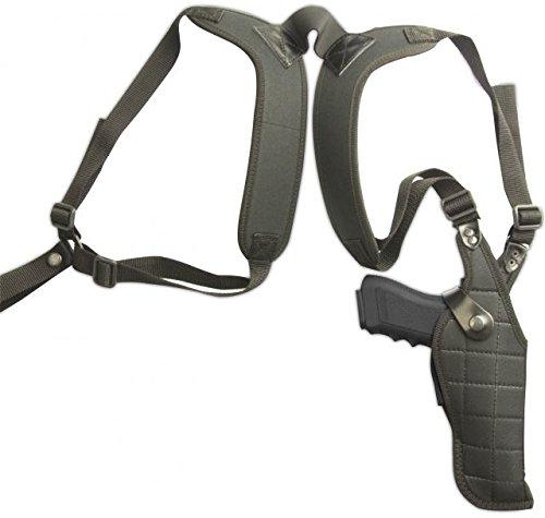 Cebeci 10337RB01 Right-Hand Nylon Vertical Shoulder CTO 10337 Holster Gun Belt, Black, 4