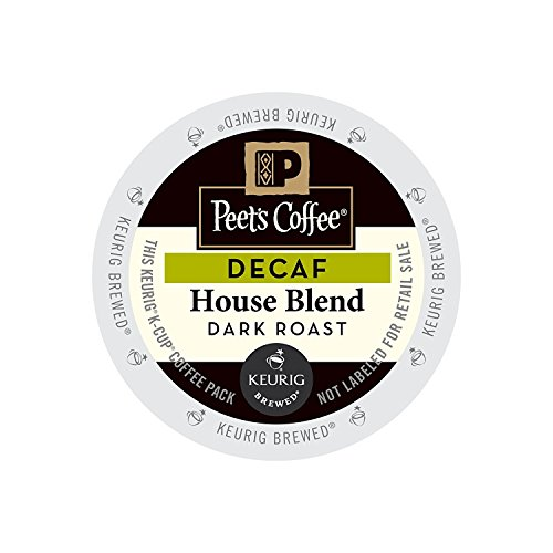 Peet's Coffee & Tea Coffee Decaf For nothing Blend K-Cup Portion Pack for Keurig K-Cup Brewers, 88 Count