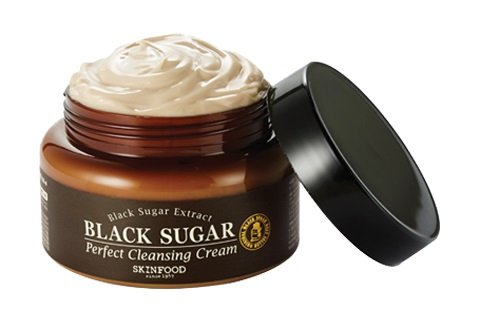 Skin-Food-Black-Sugar-Perfect-Cleansing-Cream-Pore-Tightening-Effect-Cleansing-Cream-Cleanser-Face-Cleansing-Foam-Facial-Care
