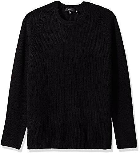 - Theory Men's Cashmere Sweater, Black, S