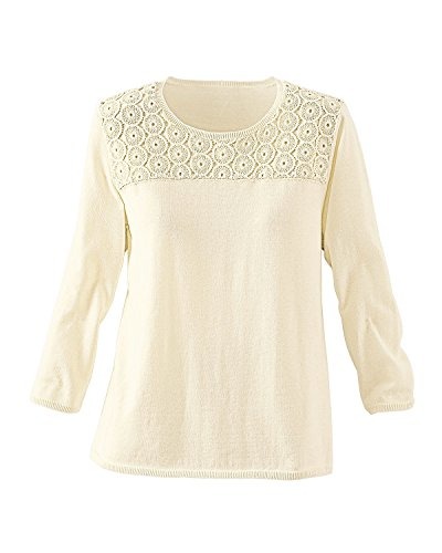 Alfred dunner lace front sweater for Alfred dunner wedding dresses